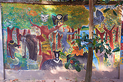 Land Mine Museum Mural