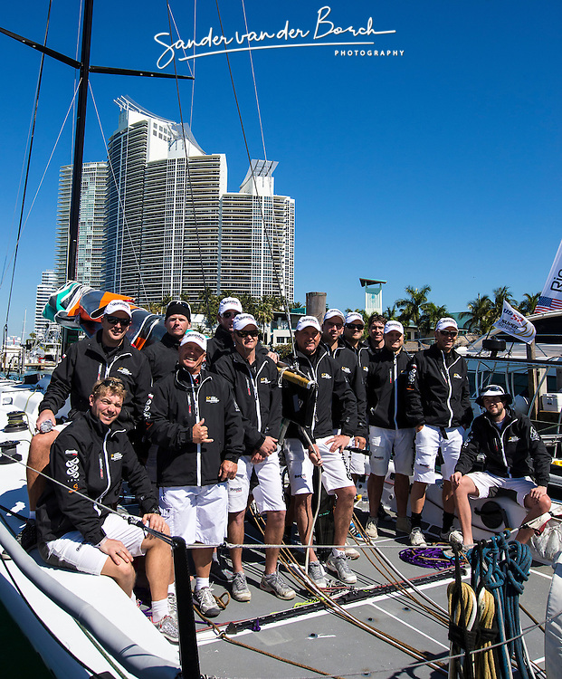 Gaastra Pro in the Gaastra TP52 World, March 2013, Miami, USA