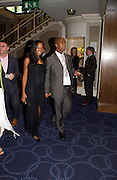 Darren Byfield and Jamelia. 50th Ivor Novello Awards, Grosvenor House. London. 26 may 2005. ONE TIME USE ONLY - DO NOT ARCHIVE  © Copyright Photograph by Dafydd Jones 66 Stockwell Park Rd. London SW9 0DA Tel 020 7733 0108 www.dafjones.com