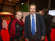 Ambassodor's reception at Holiday World RDS 2019 Friday.<br /> Pic shows Joanna Cargill (First Sec Polish Embassy) and<br /> Dumitru Anca (Minister Counsellor Economic and Commercial ,Romanian Embassy) at the event today.<br /> Pic Gary Ashe.25/1/2019