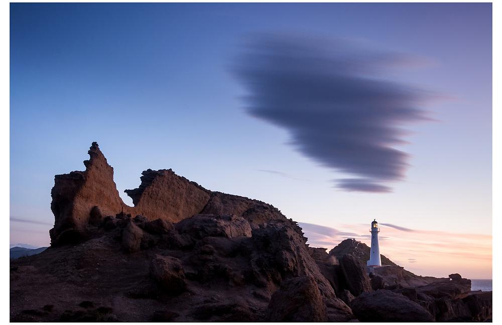 Castlepoint Lighthouse, Wairarapa.