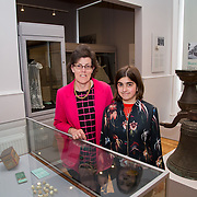 30.05. 2017.                                             <br /> Limerick Museum opened the doors to its new home at the former Franciscan Friary on Henry Street in the heart of Limerick city, dedicated to the memory of Jim Kemmy, the former Democratic Socialist Party and Labour Party TD for Limerick East and two-time Mayor of Limerick.<br /> <br /> Pictured at he opening of the Museum were, Colette and Anna Potter.<br /> <br /> The museum will house one of the largest collections of any Irish museum. Picture: Alan Place