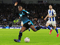 Football - 2018 / 2019 Emirates FA Cup - Fourth Round: Brighton & Hove Albion vs. West Bromwich Albion<br /> <br /> Rekeem Harper of WBA at The Amex.<br /> <br /> COLORSPORT/ANDREW COWIE