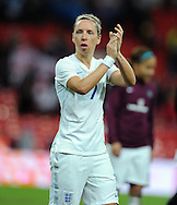 Jordan Nobbs of England Women at the end of the game<br /> - Womens International Football - England vs Germany - Wembley Stadium - London, England - 23rdNovember 2014  - Picture Robin Parker/Sportimage