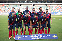 July 19, 2017 - Philadelphia, Pennsylvania, U.S - Cost Rica team before the CONCACAF Gold Cup 2017 action at Lincoln Financial Field in Philadelphia, PA.  Costa Rica defeats Panama 1 to 0. (Credit Image: © Mark Smith via ZUMA Wire)