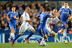 18.09.2013, Stamford Bridge, London, ENG, UEFA Champions League, FC Chelsea vs FC Basel, Gruppe E, im Bild Chelsea's Oscar  during UEFA Champions League group E match between FC Chelsea and FC Basel at the Stamford Bridge, London, United Kingdom on 2013/09/18. EXPA Pictures © 2013, PhotoCredit: EXPA/ Mitchell Gunn <br /> <br /> ***** ATTENTION - OUT OF GBR *****