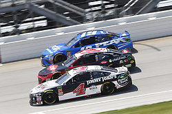 July 1, 2018 - Joliet, Illinois, United States of America - Kevin Harvick (4) battles for position during the Overton's 400 at Chicagoland Speedway in Joliet, Illinois  (Credit Image: © Justin R. Noe Asp Inc/ASP via ZUMA Wire)