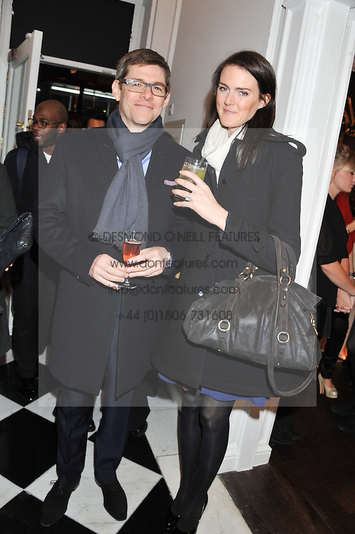 NICK CLAYDON and CHARLOTTE WHEELER at a party to celebrate thelaunch of Alice Temperley's flagship store Temperley, Bruton Street, London on 6th December 2012.