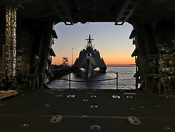 170301-N-BL450-011<br /> SAN DIEGO (March 3, 2017) The littoral combat ship USS Jackson (LCS 6) sits pierside in San Diego, Calif. (U.S. Navy photo by Lt. Miranda V. Williams/Released)