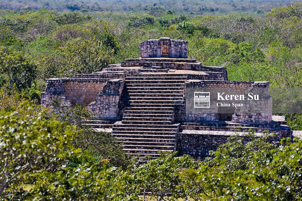 Mayan ruins of Ek Balam, Yucatan, Mexico