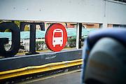 Platform at busstation in Tarragona