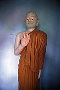 Image of Buddha statue,<br /> Circa 1985