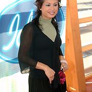 NLD/Baarn/20051229 - Persconferentie finalisten Idols 2005, zwangere Charissa