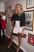 JODIE KIDD, Maison Triumph launch to celebrate the beginning of London fashion week. Monmouth St. 14 February 2013.