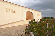 Winery building. Chateau Nenin, Pomerol, Bordeaux, France