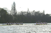 Peter Spurrier Sports  Photo<br />email pictures@rowingpics.com<br />Tel 44 (0) 7973 819 551<br />Photo Peter Spurrier<br />30/03/2002<br />2002 Varsity Boat Race<br />Oxford vs Cambridge over the Championship course - Putney to Mortlake. 14.10 Start<br />Peter Spurrier Sports  Photo<br />email pictures@rowingpics.com<br />Tel 44 (0) 7973 819 551<br />Photo Peter Spurrier<br />30/03/2002<br />2002 Varsity Boat Race<br />Oxford vs Cambridge over the Championship course - Putney to Mortlake. 14.10 Start
