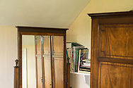 House room interior with old furniture