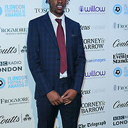 Romaine Sawyers Arrives at London Football Awards 2018 at Battersea Evolution on 1st March 2018,  London, UK.