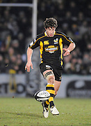 Wycombe, GREAT BRITAIN,   Wasps' Dominic WALDDOUCK, during the London Wasps vs Harlequins match, at Adam's Park Stadium, Bucks on Sun 04.01.2009. [Photo, Peter Spurrier/Intersport-images]