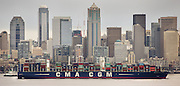 The CMA CGM Benjamin Franklin,<br />