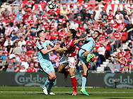 Rudy Gestede of Middlesbrough in action during the Premier League match at the Riverside Stadium, Middlesbrough. Picture date: April 8th, 2017. Pic credit should read: Jamie Tyerman/Sportimage