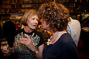HARRIET BATTEN-FOSTER; JOAN BAKEWELL, Drinks to celebrate the 60th anniversary of the Times Cheltenham Literature festival. Hosted by James Harding editor of the Times and the Directors of the Cheltenham Festival. The London Library. St. James's Sq. 23 September 2009.