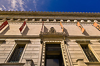 Exterior view, Corcoran Gallery of Art, Washington D.C., U.S.A.