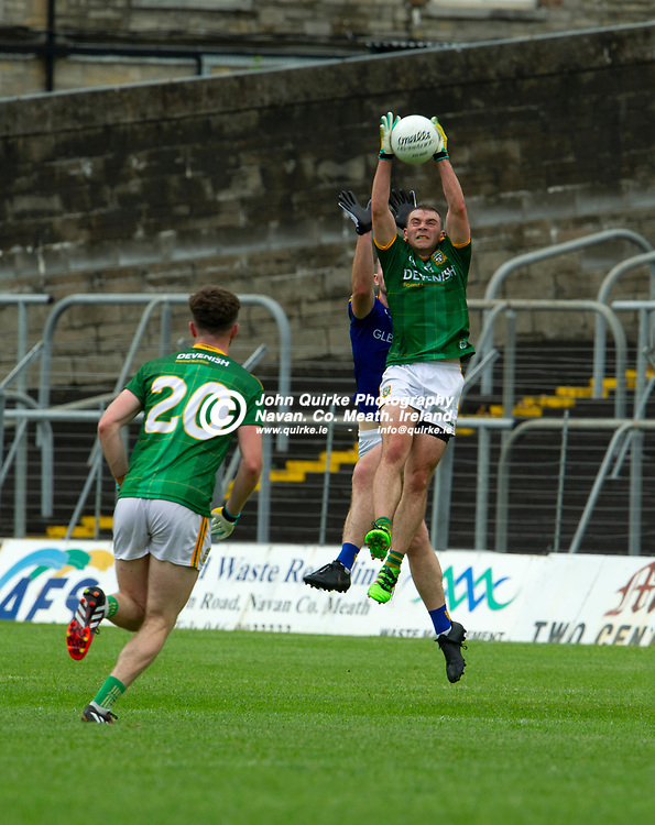 04-07-21. Meath v Longford - Leinster SFC Quarter-Final at Pairc Tailteann, Navan.<br /> Joey Wallace, Meath in action against Longford.<br /> Photo: John Quirke / www.quirke.ie<br /> ©John Quirke Photography, 16 Proudstown Road, Navan. Co. Meath. (info@quirke.ie / 046-9028461 / 087-2579454).