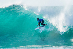 3X World Champion and defending event champion Mick Fanning of Australia advanced to the Quarterfinals of the Corona Open J-Bay after defeating rookie Joan Duru of France in Heat 1 of Round Five at pumping Supertubes, Jeffreys Bay, South Africa.