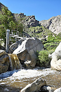 US Geological Survey Gaging Station at Tahquitz Canyon Palm Springs California