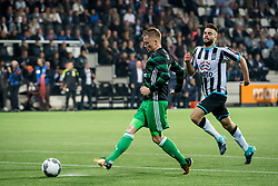 Sam Larsson of Feyenoord 2-4 during the Dutch Eredivisie match between Heracles Almelo and Feyenoord Rotterdam at Polman stadium on September 09, 2017 in Almelo, The Netherlands