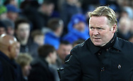 Everton manager Ronald Koeman during the Premier League match at Goodison Park, Liverpool. Picture date: December 4th, 2016.Photo credit should read: Lynne Cameron/Sportimage