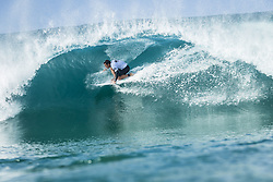 October 12, 2017 - Marc Lacomare (FRA) Placed 2nd in Heat 6 of Round One at Quiksilver Pro France 2017, Hossegor, France..Quiksilver Pro France 2017, Landes, France - 12 Oct 2017 (Credit Image: © WSL via ZUMA Press)
