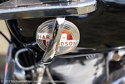 Harley-Davidson Panhead shifter detail taken at the AMCA (Antique Motorcycle Club of America) Sunshine Chapter National Meet in New Smyrna Beach during Daytona Beach Bike Week. FL. USA. Saturday March 11, 2017. Photography ©2017 Michael Lichter.