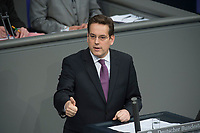 22 FEB 2013, BERLIN/GERMANY:<br /> Dr. Erik Schweikert, MdB, FDP, Bundestagsdebatte zum Verbraucherschutz, Plenum, Deutscher Bundestag<br /> IMAGE: 20130222-01-011