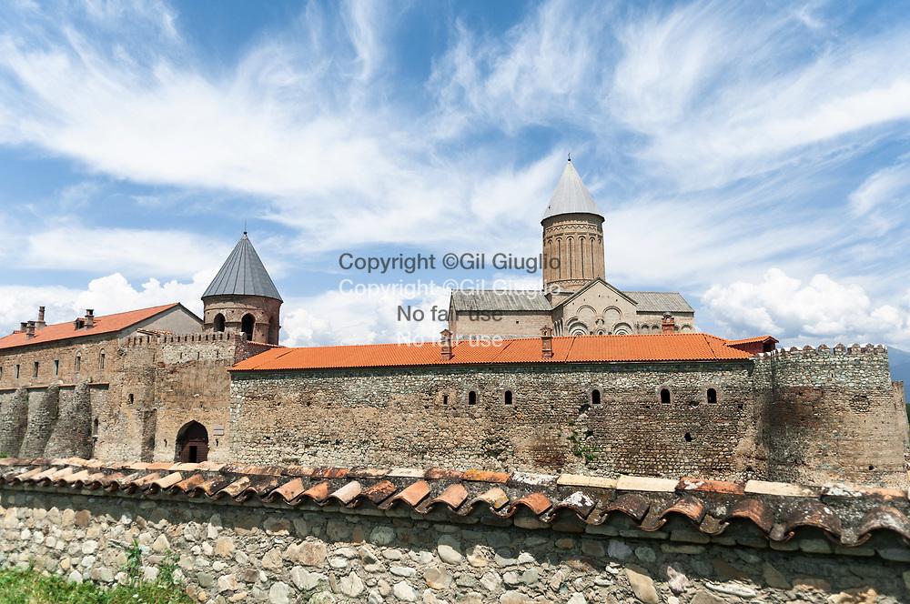 Georgie, région  Kakhétie, monastère Alaverdi (VIe siècle) prêt de Telavie // Georgia, Kakhety region, Alaverdi monastery (6Th century)for first build) area of Telavy