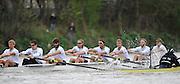 Putney- Mortlake, LONDON, GREAT BRITAIN,  Cambridge left to right. CUBC. Bow. David NELSON, 2. Moritz SCHRAMM, 3. Jack LINDEMAN, 4. Alex ROSS , 5.Michael THORP, 6. Steve DUDEK, 7 Alexander SCHARP, Stk. Niles GARRETT . Cox. Ed BOSSON . 2012 Boat Race, Oxford University vs Cambridge University. racing over the championship course. Putney/Mortlake, Saturday  07/04/2012  [Mandatory Credit, Peter Spurrier/Intersport-images]..Crews:.OUBC. Bow Dr. Alexander WOODS, 2. William ZENG, 3. Kevin BAUM, 4. Alex DAVIDSON,5. Karl HUDSPITH, 6. Dr. Hanno WIENHAUSEN, 7. Dan HARVEY, Stk. Roel HAEN, Cox. Zoe DE TOLEDO...CUBC. Bow. David NELSON, 2. Moritz SCHRAMM, 3. Jack LINDEMAN, 4. Alex ROSS , 5.Michael THORP, 6. Steve DUDEK, 7 Alexander SCHARP, Stk. Niles GARRETT . Cox. Ed BOSSON .