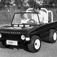 Range Rover Model Car, Land Rover Press Office