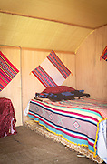 Bed and Breakfast on one of the islands of Lake Titicaka, Puno, Peru, South America