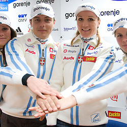 20081215: Nordic Ski - Press conference of Petra Majdic and Slovenian National Team