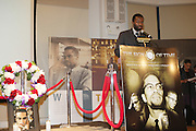Jaime Hector at The 84th Birthday Celebration for Malcolm X and the Memorializing and Marking, for the First Time, the Location in Audubon Ballroom Where He Was Martyred in 1965.