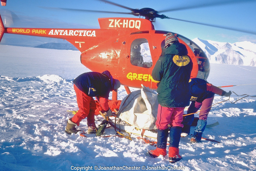 """Australian Bicentennial Antarctic Expedition (Feb 18th 1988) Greg Mortimer,Lyle Closs, Glenn Singleman,Chris Hilton Lincoln Hall (RIP) and Jonathan Chester made the first ascent of Mt Minto 4163m in Antarctica's, North Victoria Land on the epic  three-month-long """"Australian Bicentennial Antarctica Expedition"""""""