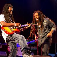 Ky-Mani Marley performing at Mela Festival in Oslo, 2011.