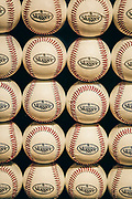 Rows of baseballs sit allow for an interactive display at the Ripley's Believe It or Not exhibit at the Louisville Slugger Museum.