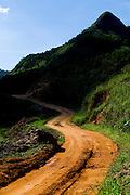 Conceicao do Castelo_ES, Brasil...Trecho da Rota Imperial em Conceicao do Castelo...The Imperial Route in Conceicao do Castelo. ..Foto: LEO DRUMOND / NITRO