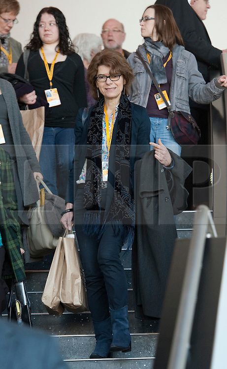 © London News Pictures. 11/03/2012.  Gateshead, UK. Economist VICKY PRYCE at the Liberal Democrat Spring conference on day 3 at the Sage Gateshead in Tyne and Wear on March 11th, 2012. Photo credit : Ben Cawthra/LNP