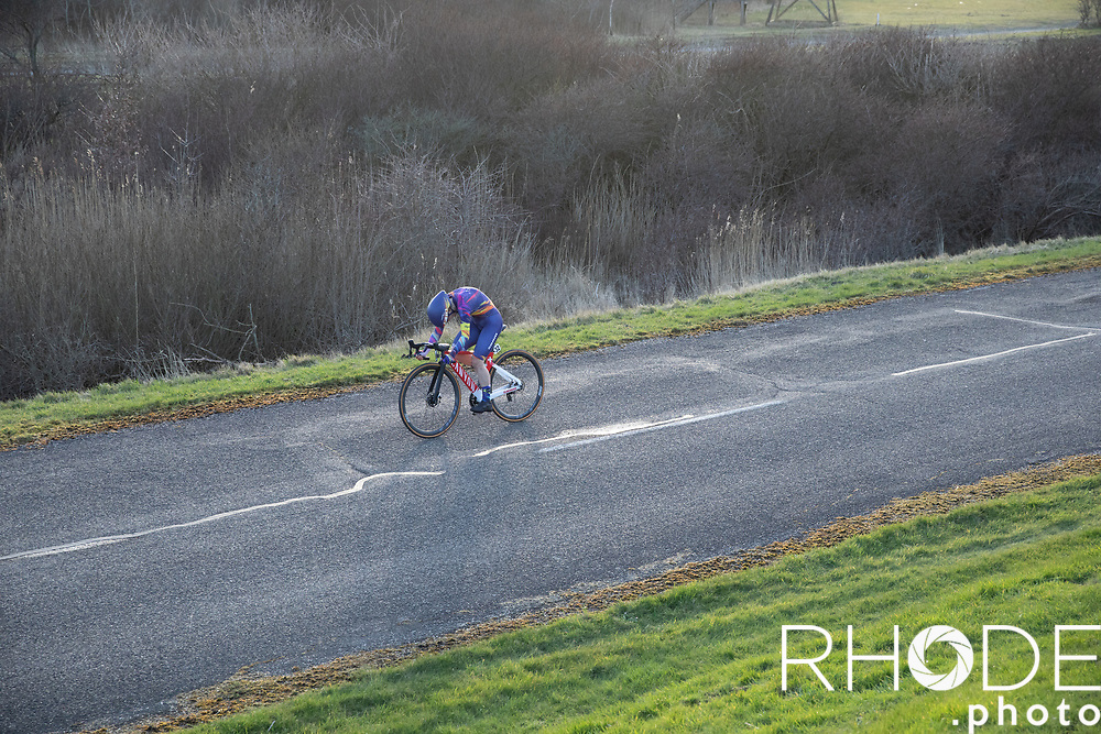 Elise Chabbey (SUI/Canyon Sram Racing)<br /> <br /> Healthy Ageing Tour (NED) 2021<br /> UCI Women Elite 2.1<br /> Stage 2 : Individual Time Trial (ITT) – Lauwersoog – Het Hoogeland 14.4km<br /> <br /> ©RhodePhoto