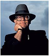 Elton John portrait London 1986