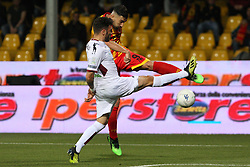 May 25, 2019 - Benevento, Italy - Massimo Coda (Benevento Calcio) during playoff  the Italian Serie B football Benevento Calcio v Cittadella at stadium Ciro Vigorito in Benevento, Italy on October 24, 2019  (Credit Image: © Paolo Manzo/NurPhoto via ZUMA Press)