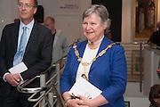 HONORY ALDERMAN FRANCES ELOIS; ANGELA WYNN, 20/21 British Art Fair. Celebrating its 25 Anniversary. The Royal College of Art . Kensington Gore. London. 12 September 2012.